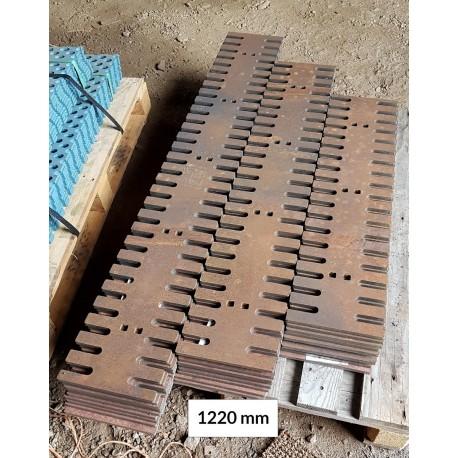 Hammasterä 12x220x915 500 HB, reikäjako 305 mm