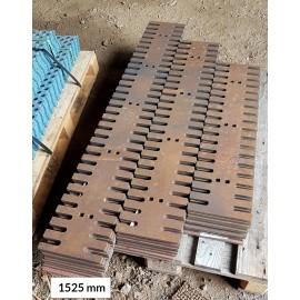 TIETERÄ SUORA HAMMAS 12x220x1525 500 HB, reikäjako 305 mm