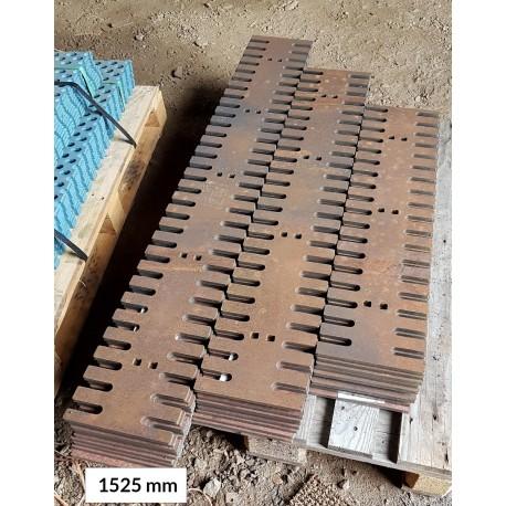 Hammasterä 12x220x1525 500 HB, reikäjako 305 mm