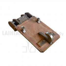 NTP10-kiinnike 16 mm pohjalevy, eri kokoonpanoja